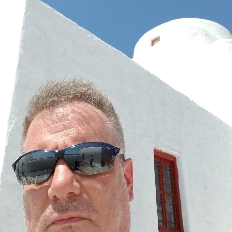 Andrew in Greece