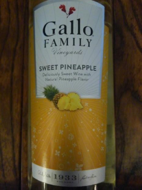 NV Gallo Family Vineyards / Gallo of Sonoma Sweet Pineapple, USA, California - CellarTracker