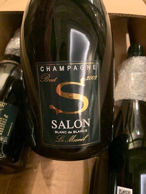 2006 Salon Champagne Cuvée \'S\' Le Mesnil Blanc de Blancs ...