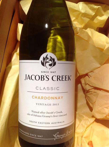 2013 Jacob's Creek Chardonnay Classic, Australia, South Australia, Barossa, Barossa Valley - CellarTracker