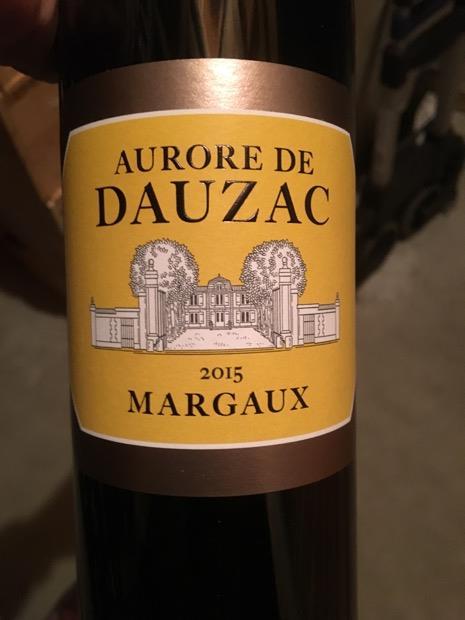 2015 Aurore de Dauzac, France, Bordeaux, Médoc, Margaux ...