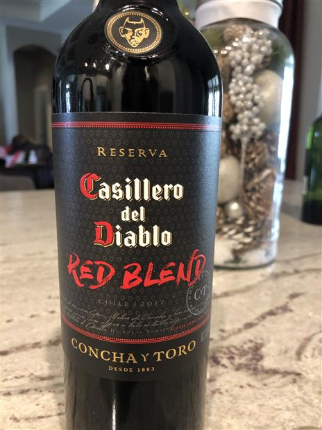 2017 Concha Y Toro Casillero Del Diablo Winemakers Red