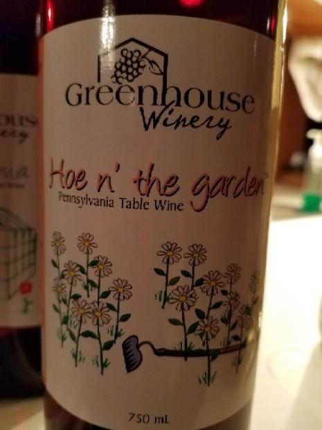 2013 Greenhouse Winery Hoe N The Garden Usa Pennsylvania Cellartracker