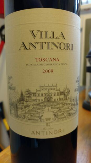 villa antinori toscana igt 2009