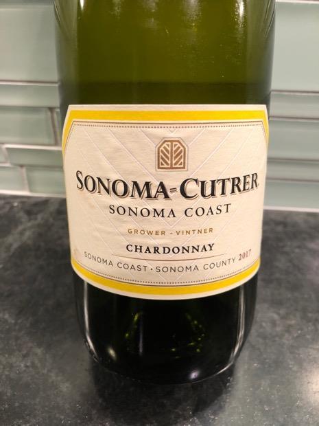 sonoma cutrer chardonnay 2017
