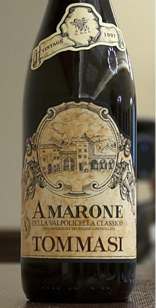 1997 Tommasi Amarone della Valpolicella Classico, Italy, Veneto ...