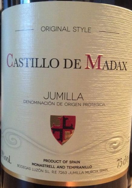 2018 Bodegas Luzon Jumilla Castillo de Madax, Spain, Murcia, Jumilla - CellarTracker