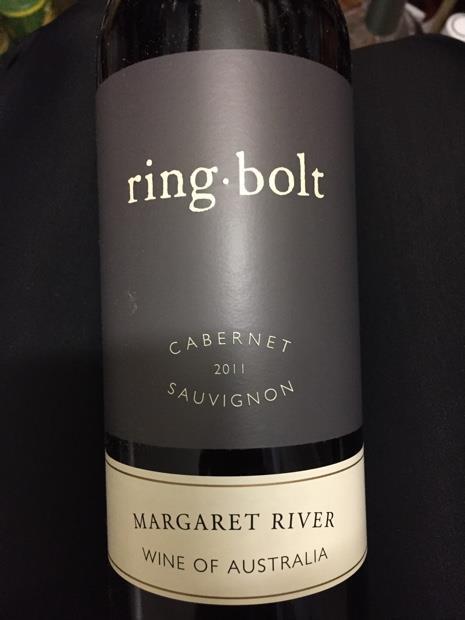 2011 Ringbolt Cabernet Sauvignon Australia Western