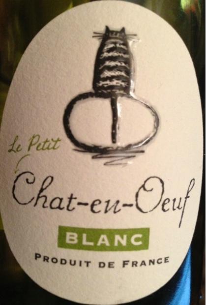 NV Boutinot Le Petit Chat-en-Oeuf Blanc, France, Languedoc Roussillon, Vin de Pays d'Oc - CellarTracker