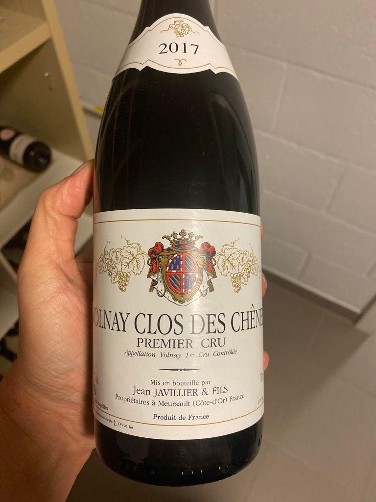 2017 Jean Javillier Volnay 1er Cru Clos Des Chênes France Burgundy Côte De Beaune Volnay 1er Cru Cellartracker