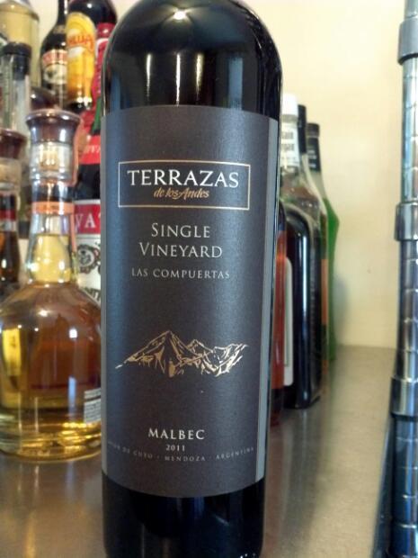 2011 Terrazas De Los Andes Malbec Single Vineyard Las