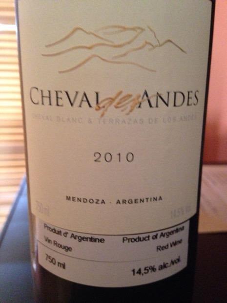 2011 Terrazas De Los Andes Cabernet Sauvignon Altos Del