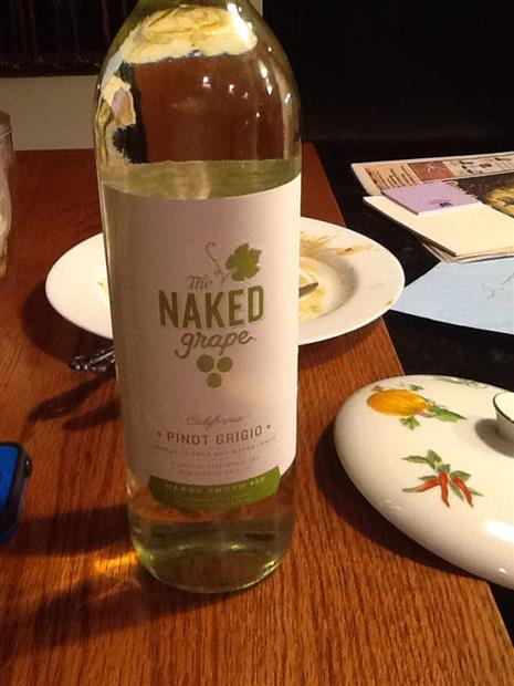 Naked Grape Unoaked Pinot Grigio | prices, stores, tasting