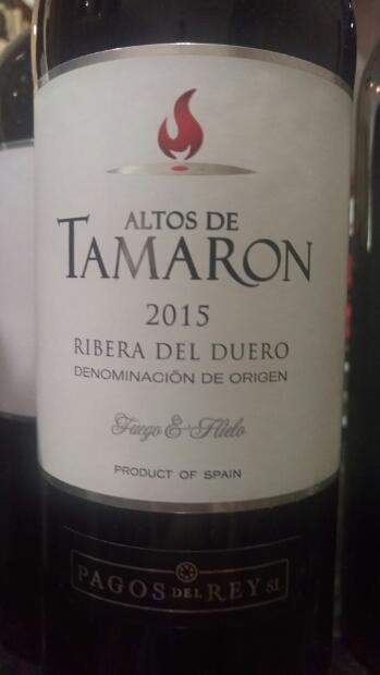 2015 Pagos Del Rey Ribera Del Duero Altos De Tamaron Joven Spain Castilla Y León Ribera Del Duero Cellartracker