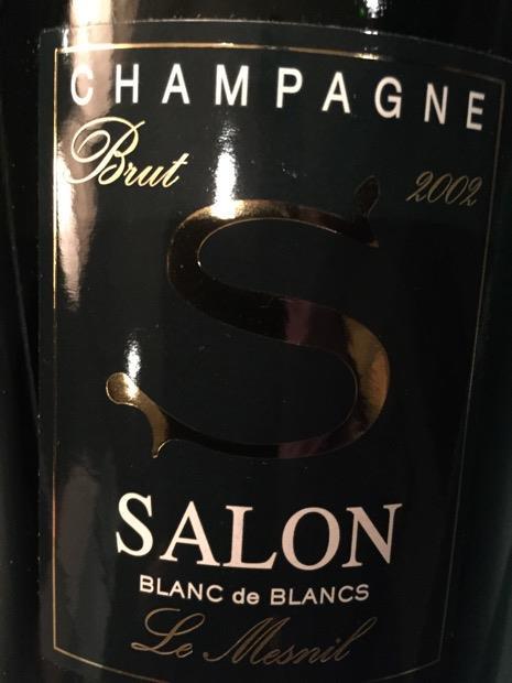 2002 Salon Champagne Blanc de Blancs Brut, France, Champagne ...