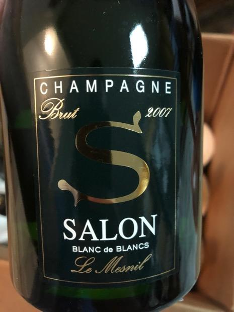 2007 Salon Champagne Blanc de Blancs Brut, France, Champagne ...