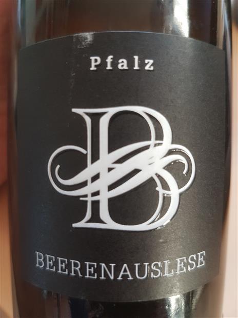 2017 Andreas Oster Beerenauslese Pfalz Germany Pfalz Cellartracker