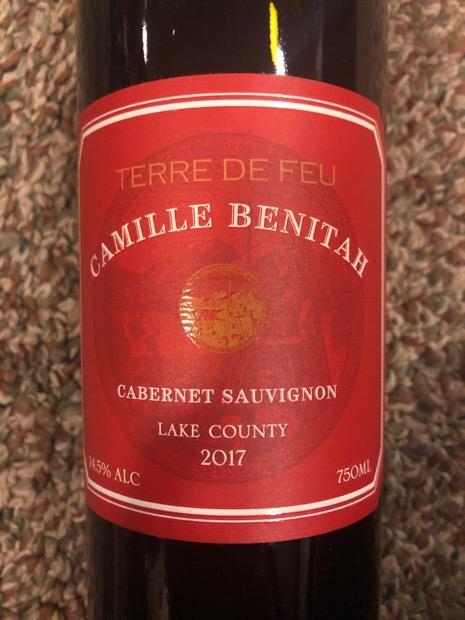 Camille Benitah Terre de Feu Cabernet Sauvignon