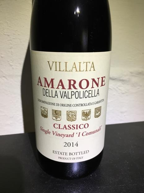 Villalta Amarone Della Valpolicella Classico 2015
