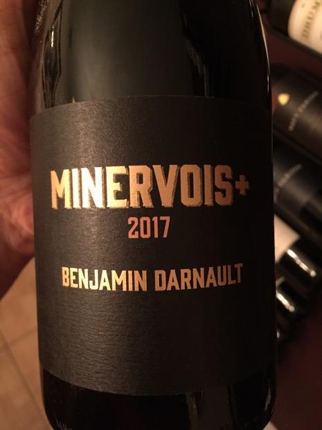 2017 Benjamin Darnault Minervois, France, Languedoc Roussillon ...