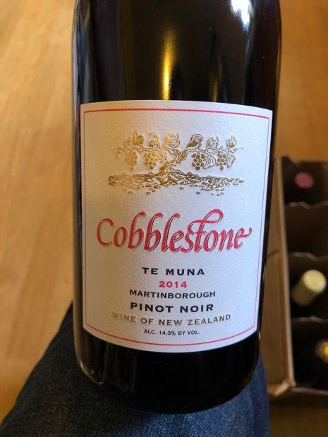 Community Tasting Notes - 2014 Cobblestone Pinot Noir Te Muna - CellarTracker