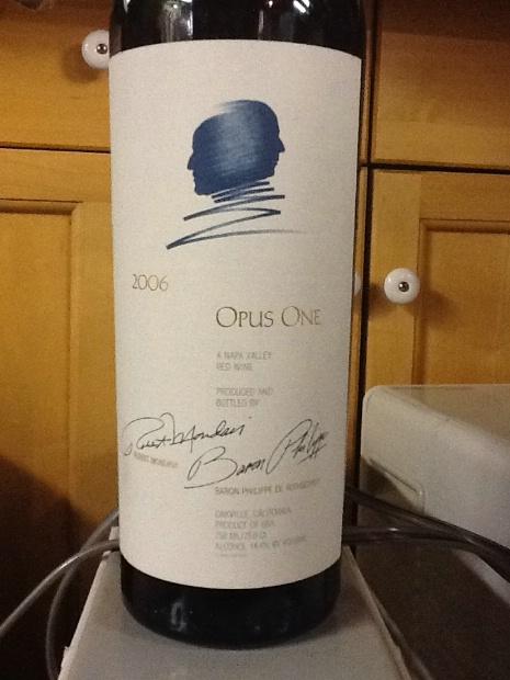2006 Opus One Usa California Napa Valley Cellartracker