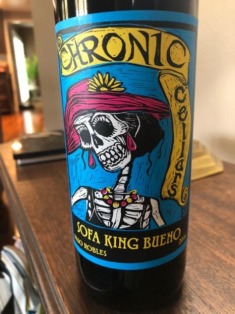 2016 Chronic Cellars Sofa King Bueno Usa California