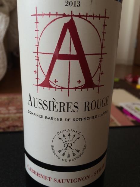 2013 Château d'Aussieres Aussieres Rouge, France, Languedoc ...