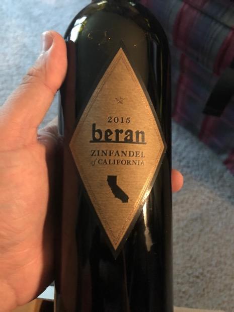 2015 Beran Zinfandel California, USA, California - CellarTracker