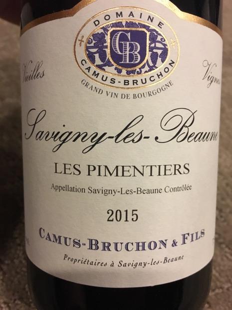 2014 Domaine Camus Bruchon Fils Savigny Lès Beaune Pimentiers Vieilles Vignes France Burgundy Côte De Beaune Savigny Lès Beaune Cellartracker