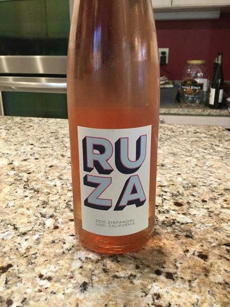 2014 RUZA Zinfandel Rosé, USA, California, Central Valley, Lodi - CellarTracker