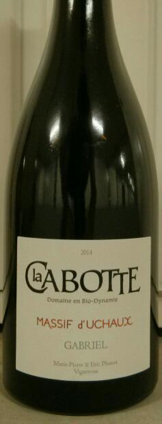 GABRIEL 2014 Domaine la Cabotte