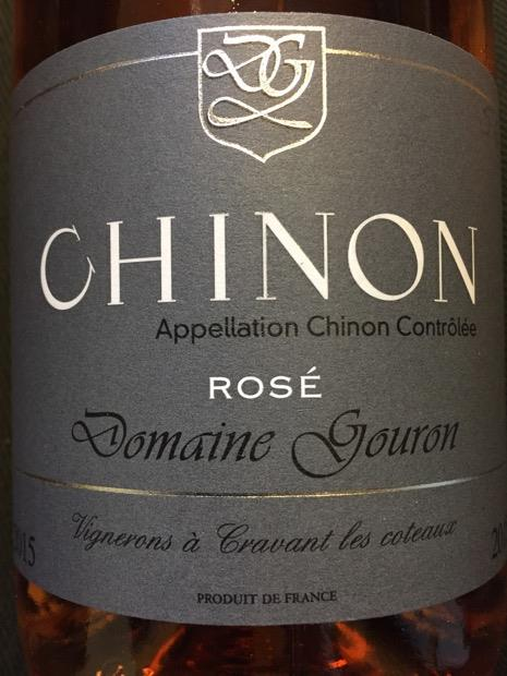 Image result for chinon domaine gouron rose