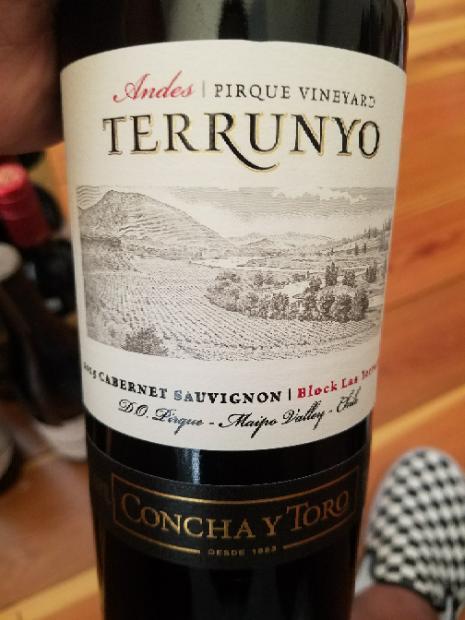 2015 Concha Y Toro Cabernet Sauvignon Terrunyo Block Las