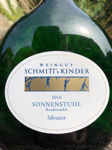 Kinder Sonnenstuhl.2014 Schmitt S Kinder Randersackerer Sonnenstuhl Silvaner