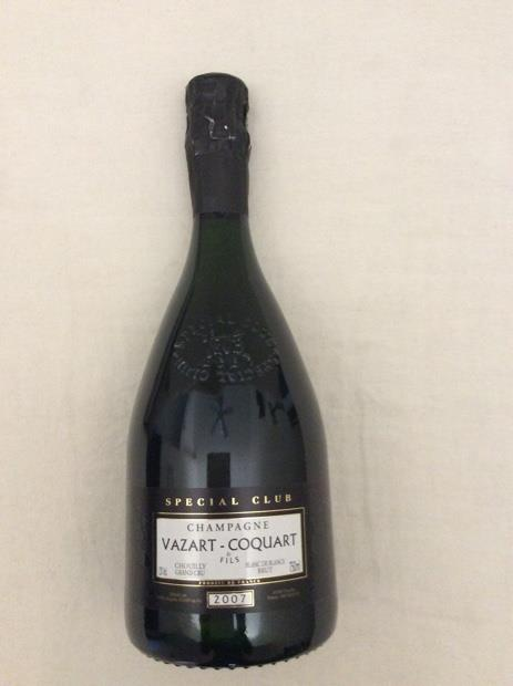 2002 Vazart-Coquart Champagne Grand Cru Blanc de Blancs ...