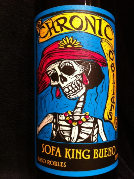 2010 Chronic Cellars Sofa King Bueno Usa California