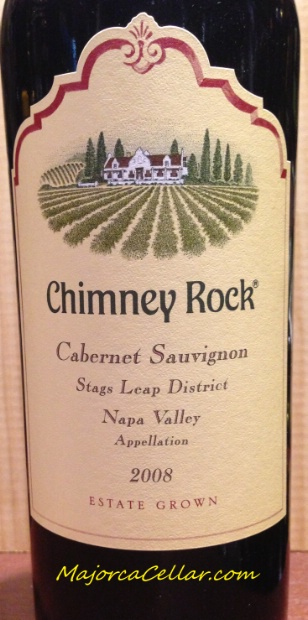 2008 Chimney Rock Cabernet Sauvignon Stags Leap District, USA, California,  Napa Valley, Stags Leap District - CellarTracker