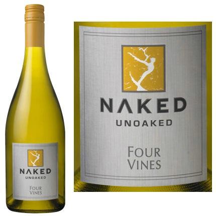2012 Four Vines Chardonnay Naked Chardonnay, USA