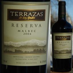 2004 Terrazas De Los Andes Malbec Reserva Argentina