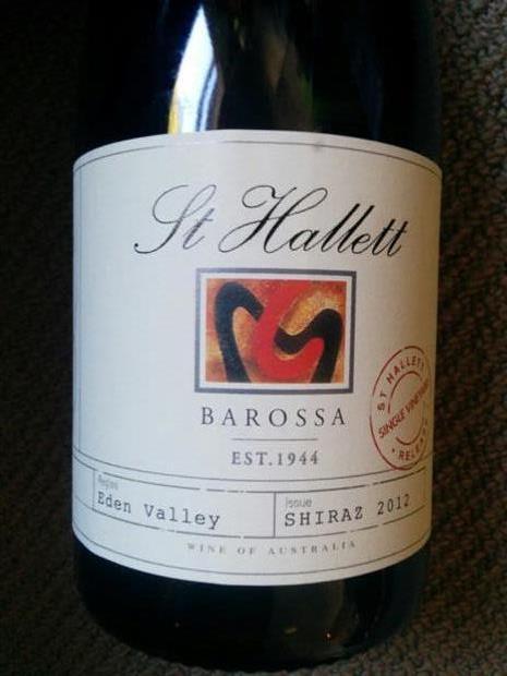 St hallett single vineyard scholz shiraz