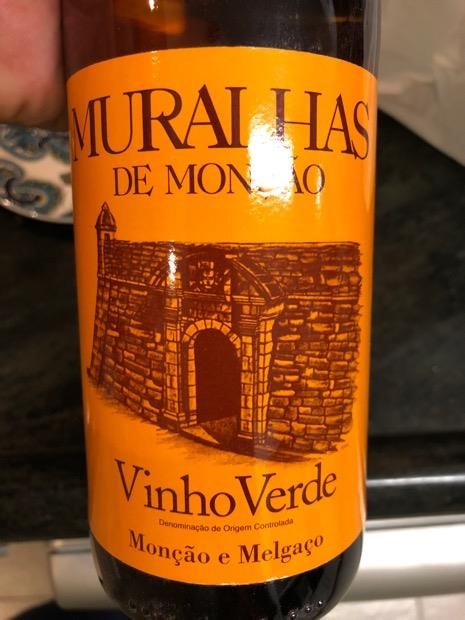 2016 Adega de Monção Vinho Verde Muralhas de Monção, Portugal, Minho, Vinho Verde - CellarTracker