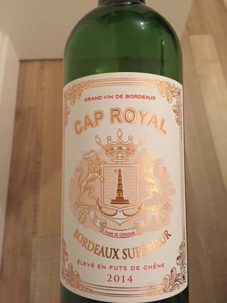 2014 Cap Royal Bordeaux Supérieur France Bordeaux Bordeaux Supérieur Cellartracker