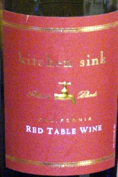 Nv Kitchen Sink Red Usa California Cellartracker