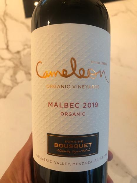 Domaine Bousquet Cameleon Organic Malbec 2019 hanapakkaus