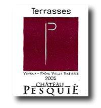 2005 Château Pesquié Ventoux Terrasses France Rhône