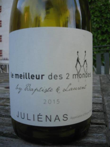 2015 Grands Vins Selection Julienas Le Meilleur Des 2 Mondes