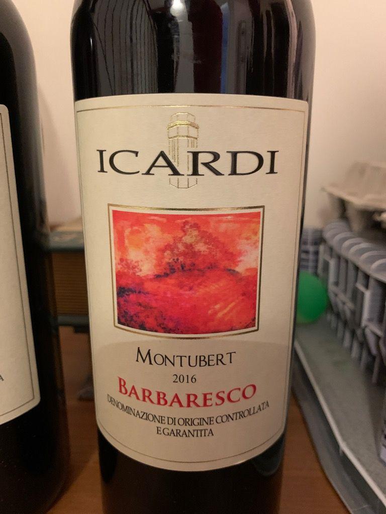 2016 Icardi Barbaresco Montubert, Italy, Piedmont, Langhe, Barbaresco -  CellarTracker