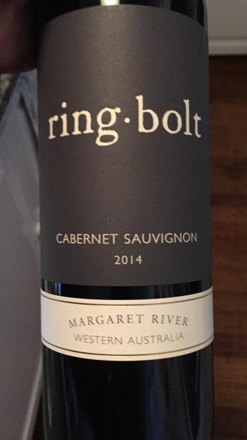 2014 Ringbolt Cabernet Sauvignon Australia Western