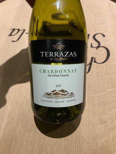 2017 Terrazas De Los Andes Chardonnay Reserva Argentina